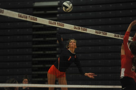 Galion's Samantha Comer is one of the top returning volleyball players in the area in 2019.