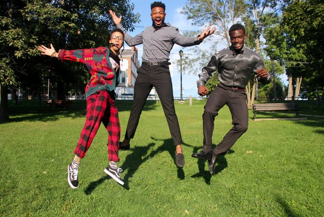 """The stories of Karoline Jiménez, Enoch Jemmott, Andrew Greenaway (left to right) are featured in the documentary """"Personal Statements."""" The film directed and produced by Juliane Dressner headlined opening night of the Middlebury New Filmmakers Festival on Thursday, Aug. 24, 2018."""