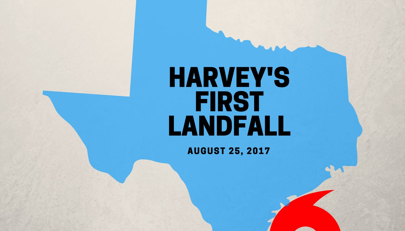 """The Corpus Christi Caller-Times, a part of The USA TODAY Network, created this """"Harvey's First Landfall"""" podcast episode to chronicle Hurricane Harvey's effects in South Texas from before the historic storm's arrival, to its landfall and the aftermath."""