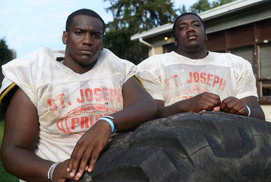 Wisdom Quarshie and Sean Morris look to bring another state title back to Hammonton for the St. Joseph Wildcats.