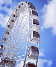 The SkyStar observation wheel.