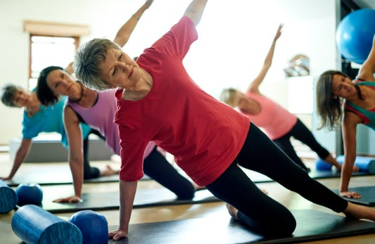 Staying Supple In Her Senior Years With Pilates