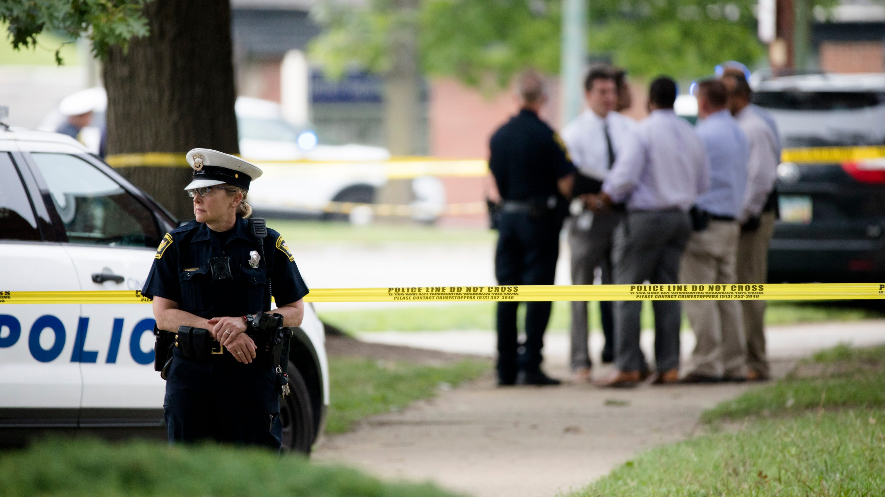 CPD: Round that hit officer in Friday incident came from