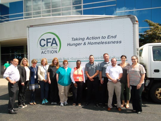 Columbia Bank employees recently collected non-perishable food, household items and paper goods as part of the bank's Fifteenth Annual Employee Food Drive.