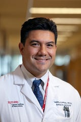 Rutgers Cancer Institute of New Jersey in New Brunswick surgical oncologist Darren R. Carpizo.