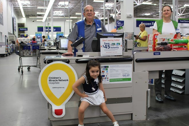 "Children's Miracle Network Hospitals 2018 New Jersey Champion Child, Isabel ""Izzy"" Rita, is excited to participate in the annual Sam's Club and Walmart fundraising campaign supporting Children's Specialized Hospital Foundation. Starting Aug. 27, and running through Sept. 30 customers and members can donate $1 or more when they check out at any participating Sam's Club or Walmart stores. Funds raised during the campaign help kids like Izzy, who was diagnosed with a spinal cord tumor only a week after celebrating her first birthday."