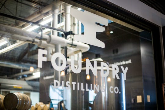 Foundry Distilling Co., new facility and distillery Friday, Aug. 24, 2018, in West Des Moines .