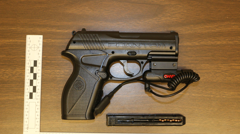 iowa state police one suspect in custody multiple bb guns