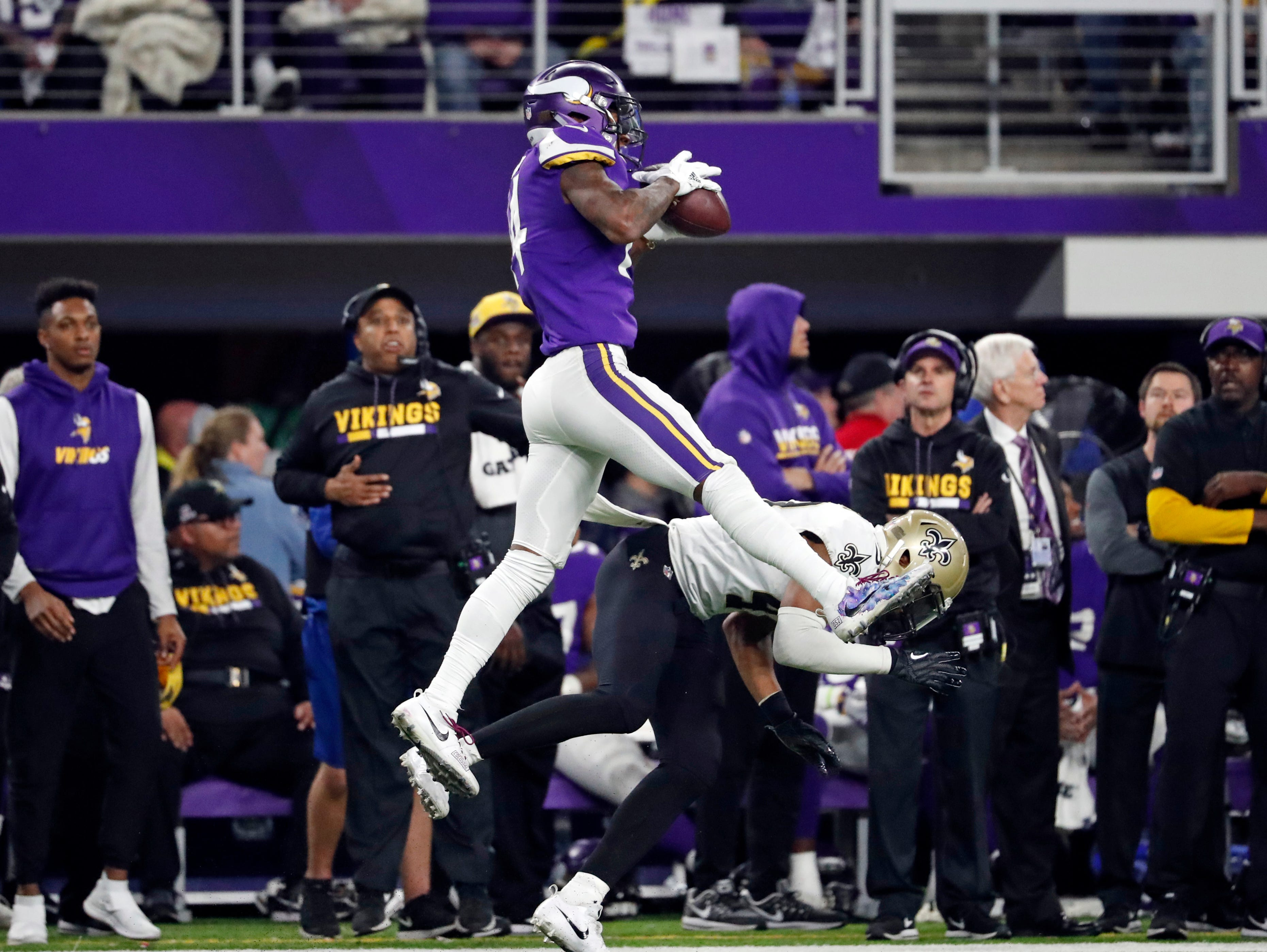 3. New Orleans Saints at Minnesota Vikings, Week 8, 8:20 p.m. Oct. 28, NBC: The Saints get a chance to exorcise the demons from last season's Minneapolis Miracle that sent the Vikings to the NFC title game.