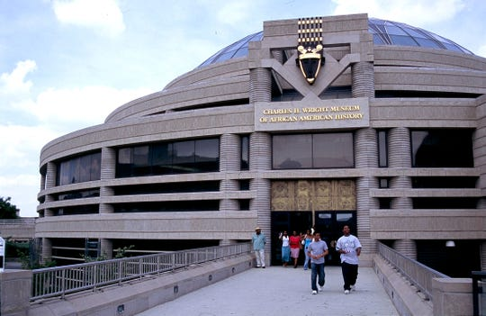 Charles H. Wright Museum of African American History in Detroit.