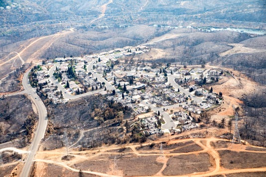 Carr fire aftermath Shasta County