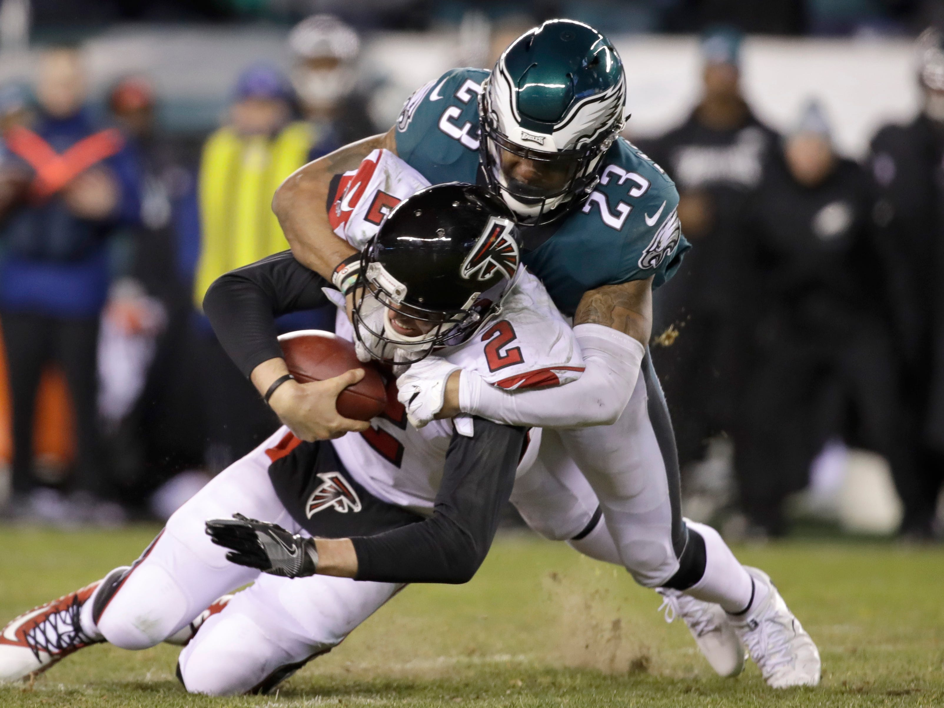 8. Atlanta Falcons at Philadelphia Eagles, Week 1, 8:20 p.m. Sept. 6, NBC: Including the first game of the season is a must, especially since it involves the defending champs. The Eagles are banged up, but can QB Nick Foles reprise his Super Bowl MVP performance?