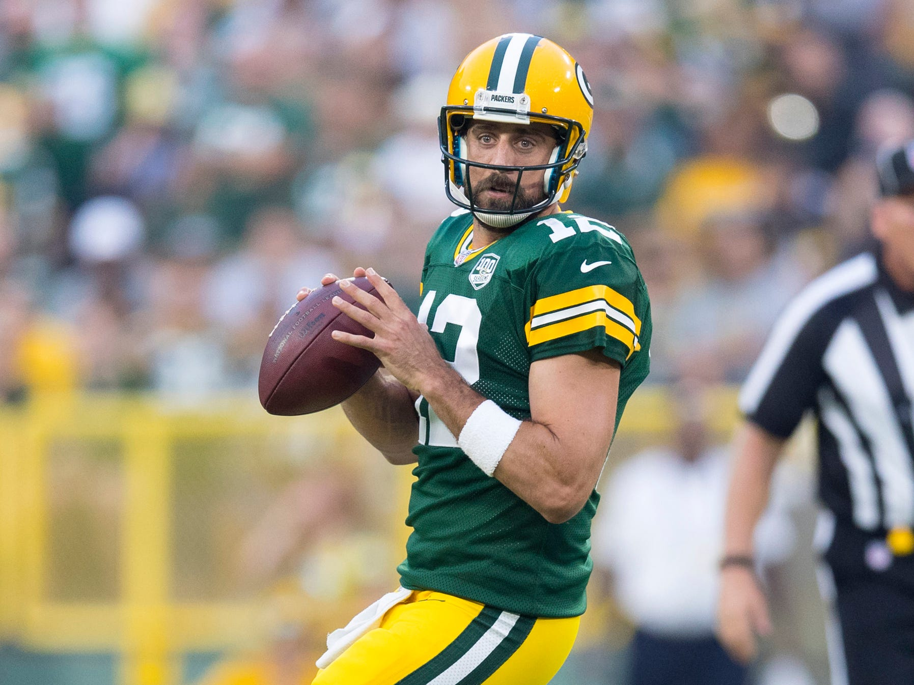 4. Green Bay Packers at New England Patriots, Week 9, 8:20 p.m. Nov. 4, NBC: These meetings between Brady, 41, and Aaron Rodgers, 34, are winding down. Soak in what we hope is a great game between two of the greatest quarterbacks to ever play the game.