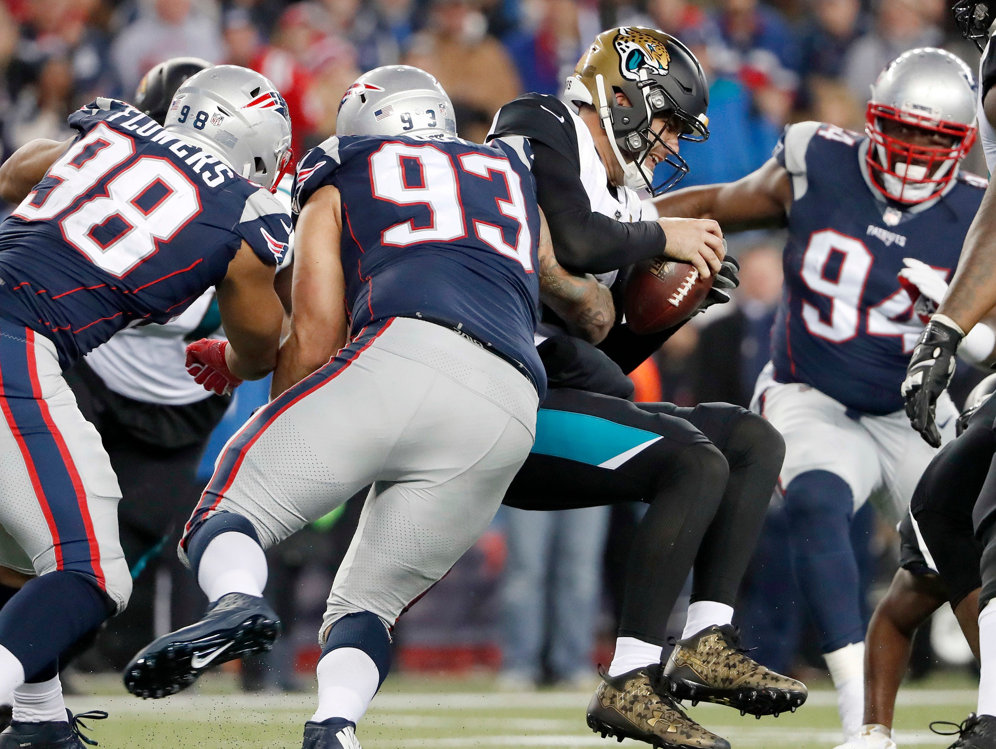 "5. New England Patriots at Jacksonville Jaguars, Week 2, 4:25 p.m. Sept. 16, CBS: This AFC championship rematch should live up to the hype if Jaguars quarterback Blake Bortles can summon his inner ""Playoff Blake,"" who we hear is good. We also hear Tom Brady ""doesn't"" suck."