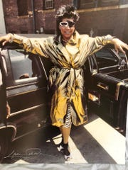 "Aretha Franklin arrives at United Sound Systems in 1986 to film a video for the song ""Jumpin' Jack Flash"" that she recorded with Rolling Stones guitarist Keith Richards, as well as Ronnie Wood and Whoopi Goldberg for the film of the same name."