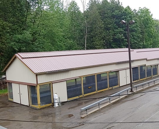 Predators will no longer be able to feast on fish in the raceways at the Bath Fish Hatchery thanks to new enclosures.