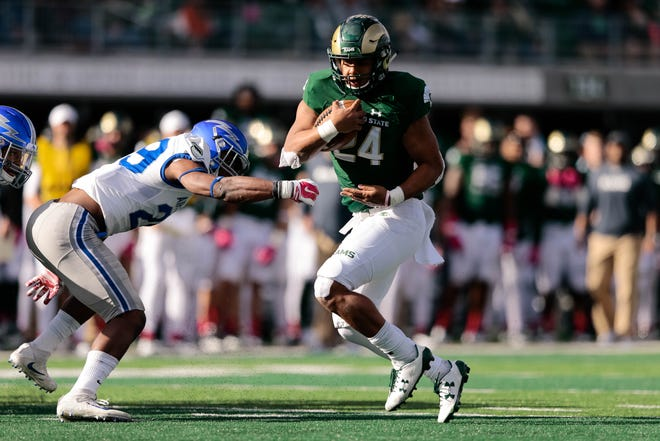 CSU running back Izzy Matthews will be the No. 1 back for the Rams this season.