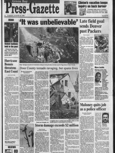 Green Bay Press Gazette Today In History August 25