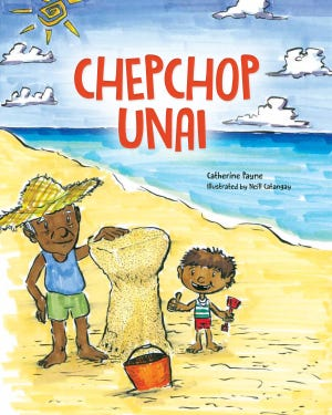 "The new Guam children's book ""Chepchop Unai"" will be launched on Sept. 1, 2018 at the University of Guam library."