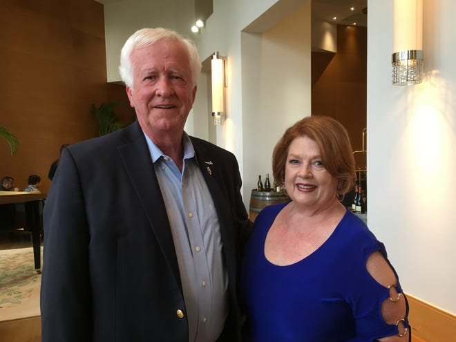 From Left to Right: Make-A-Wish Founder Tommy Austin and wife Kay celebrate 30th anniversary on Guam.