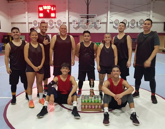 Team Savage captured the coed recreation championship title in a 61-56 win against ASC Trust in the 2018 Summerjam Tournament.