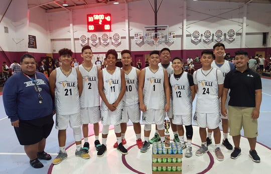 Team Flow beat out the Sinajana Rockers 40-33 in the 18-under in the championship game of the 2018 Summerjam Tournament.