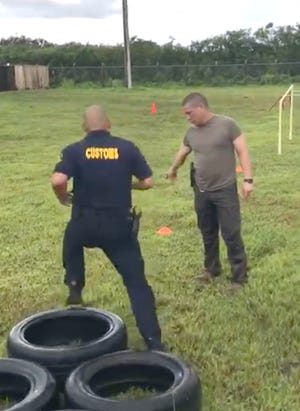 The Guam Customs and Quarantine Agency's training section welcomed all employees to voluntarily participate in a trial run recently to see how they stacked up with proposed fitness standards.