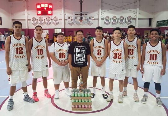 Southern United trounced MCS Phoenix 86-34 to win the 14-under division of the 2018 Summerjam Tournament.