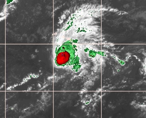Hurricane lane, as pictured on the National Weather Service website.