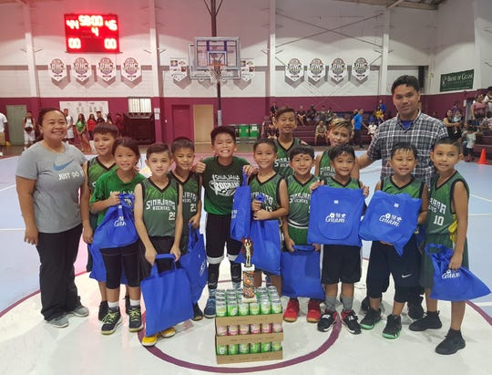 The Sinajana Rockers squeaked by in a double overtime 46-44 win against the Dededo Yellow jackets to capture the championship title in the 10-U Division of the 2018 Summerjam Tournament.