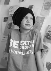 Tyler Ralstin is cancer-free 64 days after a bone marrow transplant.