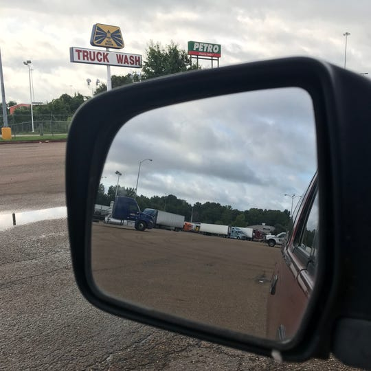 A look back at the trucks visiting the Petro Stopping Center off I- 20 in Jackson. Monday, August 20, 2018.