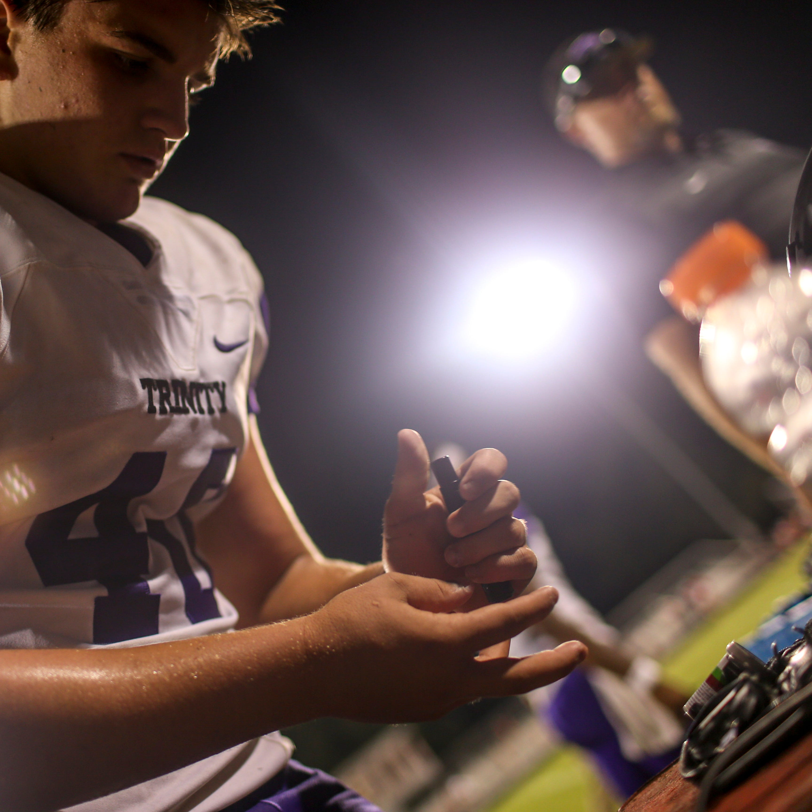 Student overcomes the challenges of diabetes to excel on football field