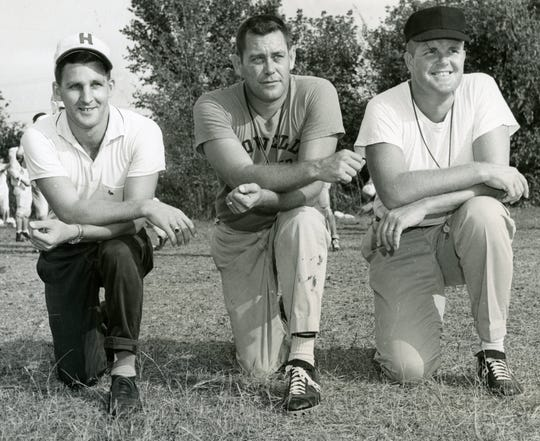 Jim Milligan, Bill Henson and Kenneth Hume in early 1960s.