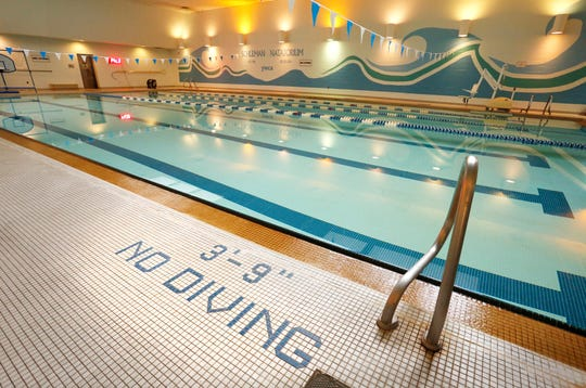 """Schleman Natatorium inside the YWCA Friday, August 24, 2018, 605 N. Sixth Street in Lafayettte. The YWCA is closing the pool September 30. The cost of maintaining the pool versus how much the pool is actually used forced the decision, YWCA executive director Allison Beggs said. """"This is not something we want to do, it's something we have to do,"""" she said."""