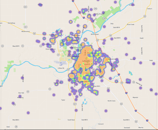 2014 To Now, Narcan Map