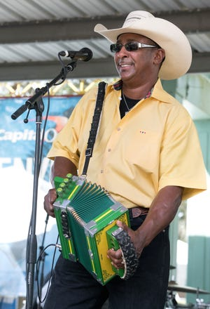 Leroy Thomas and the Zydeco Roadrunners headline the Original Southwest Louisiana Zydeco Music Festival Saturday in Opelousas.