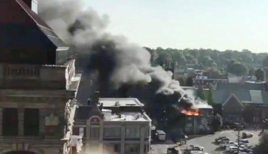 Fire in Lexington