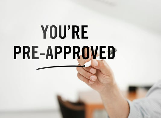 You Re Pre Approved
