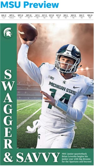 Brian Lewerke begins his second full season as MSU's starting quarterback, with his eyes on a Big Ten championship, while becoming an NFL-caliber QB.