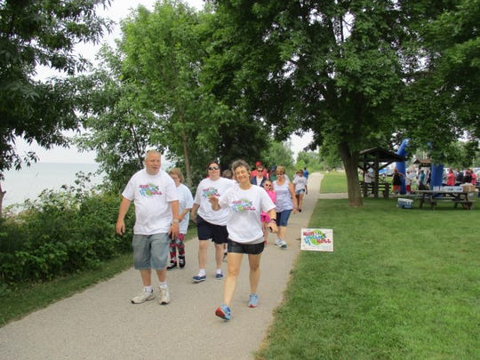 Ascend Services, Inc., a nonprofit organization for people with differing abilities, hosted its 5K Run, Walk & Roll Aug. 18 on Mariners Trail.