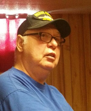 Gary Paramore, 71, a Madison graduate, served in the U.S. Navy during the Vietnam War.