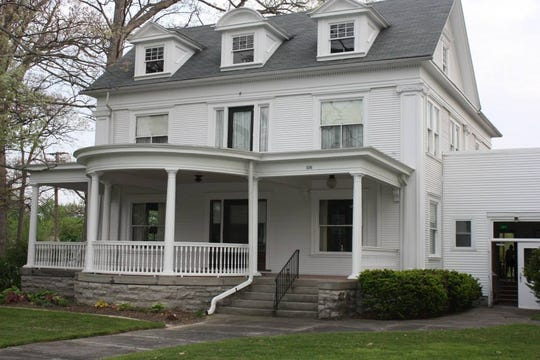 The Women's Club on East Center Street dates back to the 1890s.