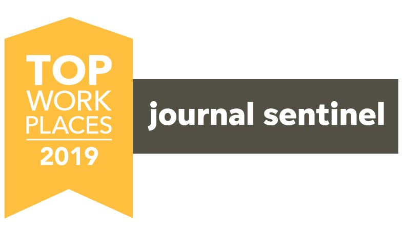 Milwaukee Journal Sentinel 2019 Top Workplaces