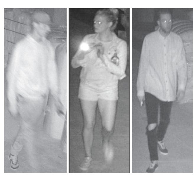 Milwaukee police are looking to identify three suspects wanted for multiple burglaries. The suspects repeatedly targeted a location in the 900 block of East Land Place.