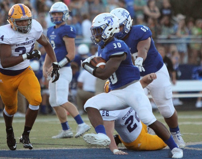 Rashad Lamkin's 268-yard rushing performance Thursday against Oconomowoc was one of the best in the area for Week 2