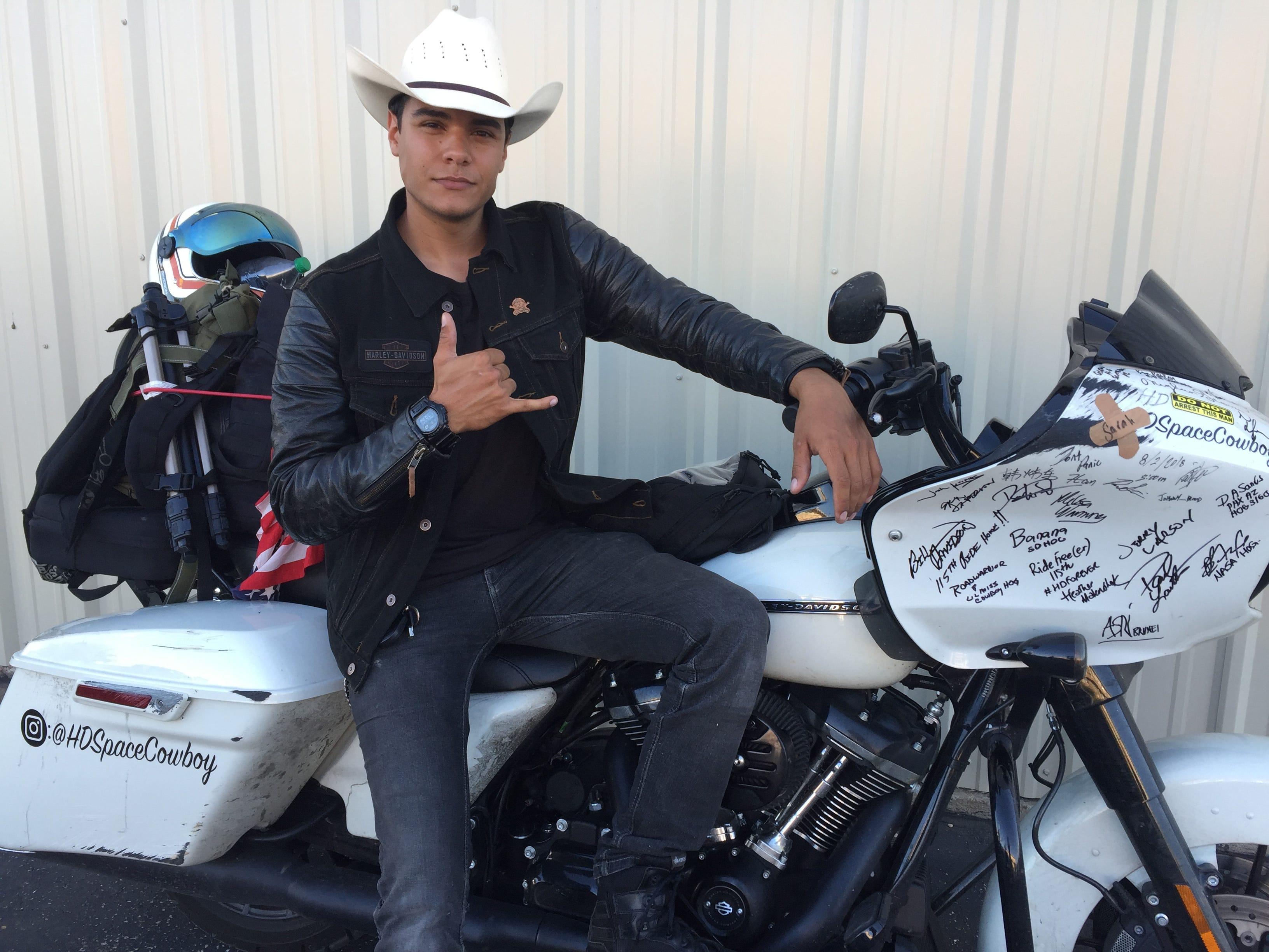 Harley Davidson Intern Overcame Pain
