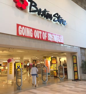 Boston Store and other department stores of Bon-Ton Stores Inc. are in their final days.