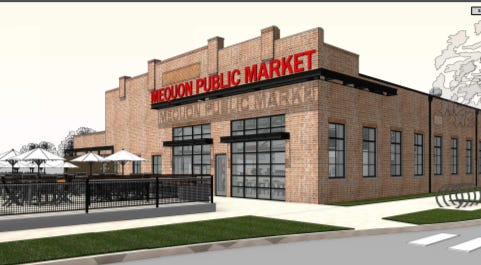 An 11,000-square-foot building will be repurposed into the Mequon Public Market, which will feature 10 vendors, including Beans & Barley, Cafe Corazón, Anodyne Coffee, Purple Door Ice Cream and Bavette La Boucherie.
