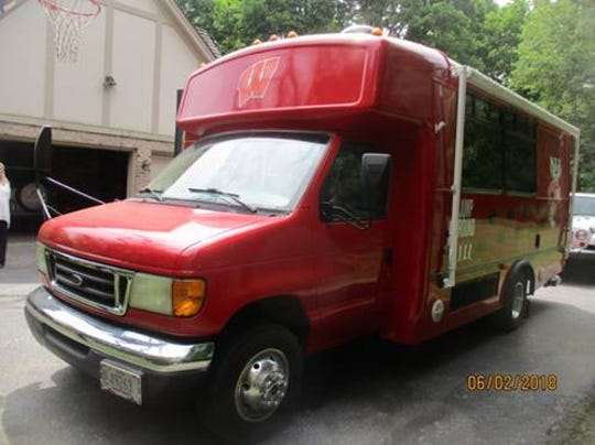 The Badger Bus is one of the auction items at this year's Lake Area Free Clinic.
